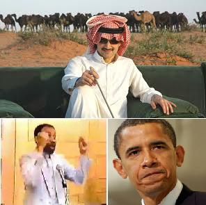 Adviser of Saudi Prince, Al-Waleed bin Talal, helped Obama as a student.