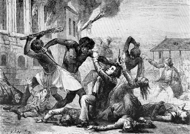 Haiti Ethnic Cleansing of Whites in 1804