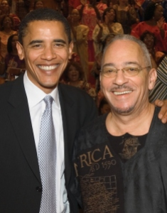 Obama's spritual guide, Jeremiah Wright.