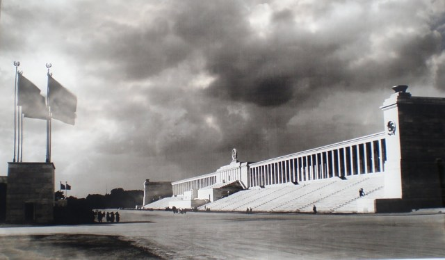 Tribune at the Zeppelin Field in Nuremberg (Click for more info)