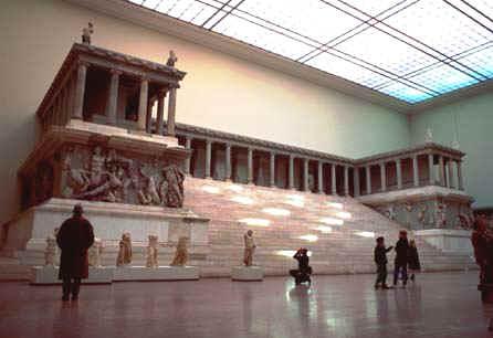 Pergamon Alter - Satan's Seat of the Book of Revelation