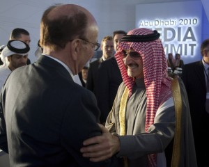 Murdoch embraces his Boss Saudi Prince Al-Waleed
