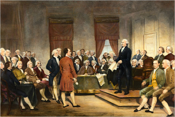 10 Best American Presidents  |George Washington Warning Against Parties