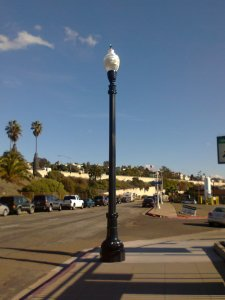 Swastika Gaslamp in San Diego