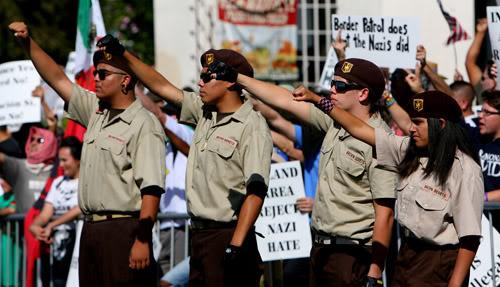 Chicano Brown Beret Paramilitary
