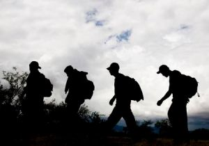 Illegal Aliens crossing into the US