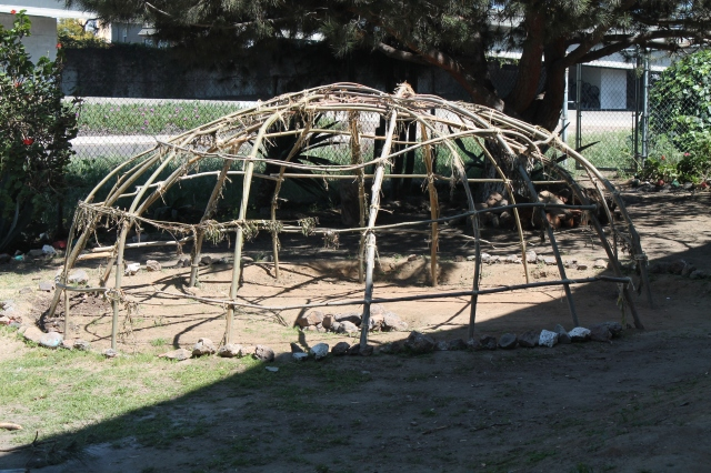 Sweat Lodge for Indigenous Ritual at Chicano Park