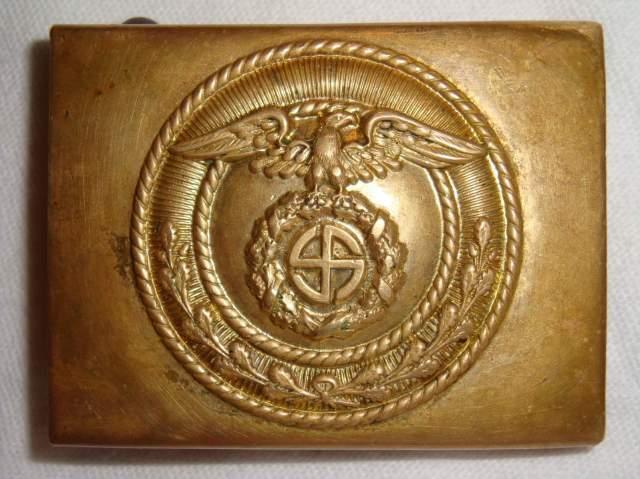 Nazi Brown-Shirt Belt Buckle