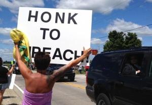 Impeach-Obama Demo (Galesburg, Il, July 1013)