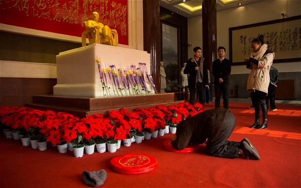 In China, Chairman Mao still bigger than Jesus